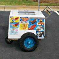 icecream cart